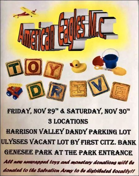 11-29 American Eagles Toy Drive