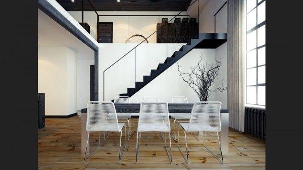 Single storey staircase