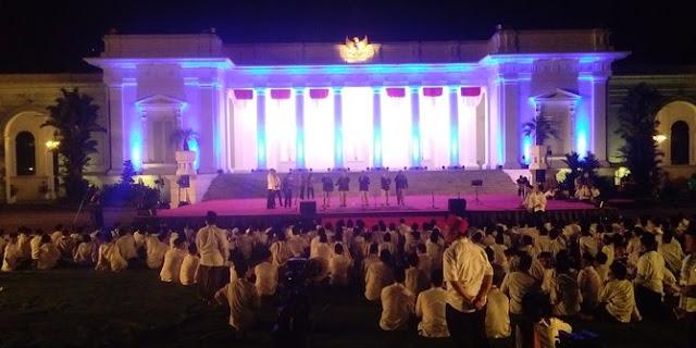 Presiden Jokowi Berharap Zikir di Istana jadi Komitmen jaga NKRI