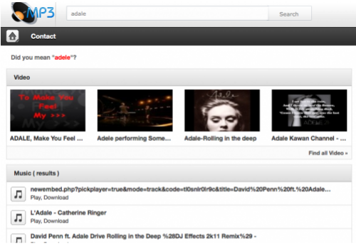 TANCODE Mp3 Search Engine v3.0 Nulled