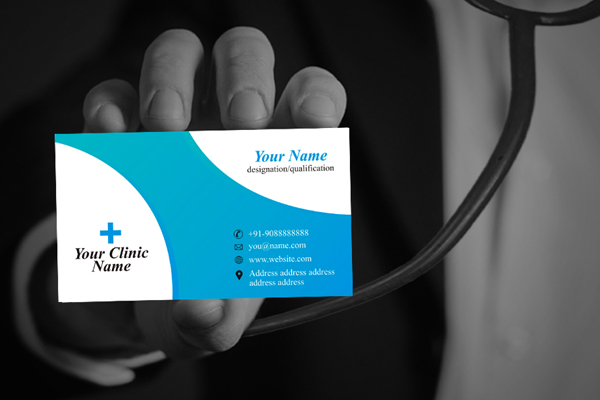 Doctor visiting card design idea freelance graphic design online doctor visiting card design idea colourmoves