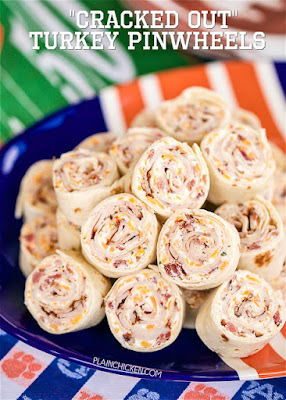 Cracked Out Turkey Pinwheels Recipe
