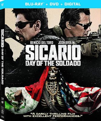 Sicario Day Of The Soldado Blu Ray