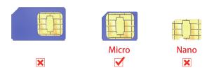 AT2 mini gps tracker simcard