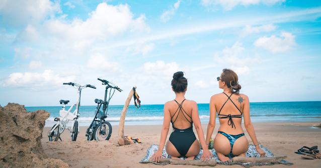 imiro 電動自行車,遊歷戶外海邊