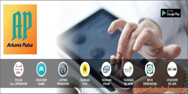 Daftar Harga Server Arkana Pulsa CV Sinar Surya Suryandaru Blora