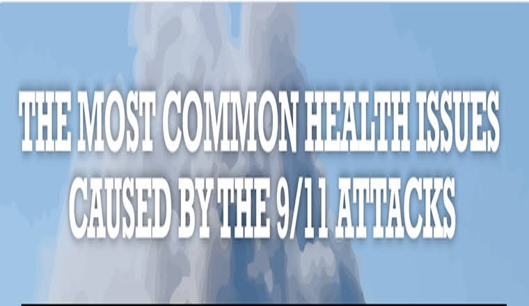 The Most Common Health Issues Caused By The 9/11 Attacks #infographic