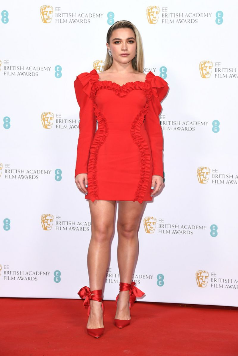 Florence Pugh – EE British Academy Film Awards 2020 Nominees' Party