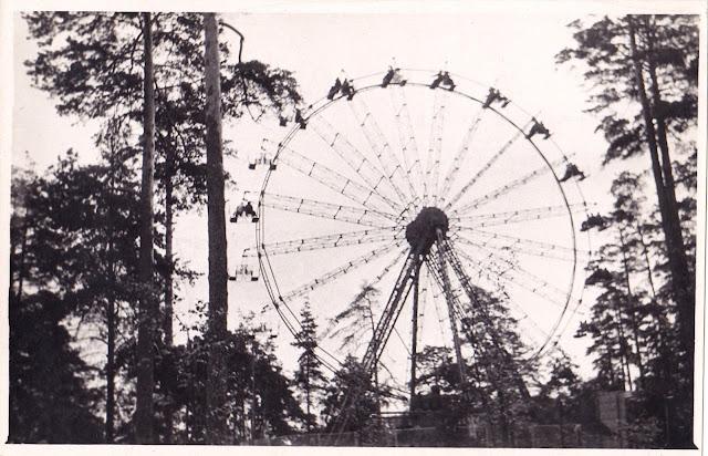 Сентябре 1964 года. Рига. Колесо обозрения в Межапарке