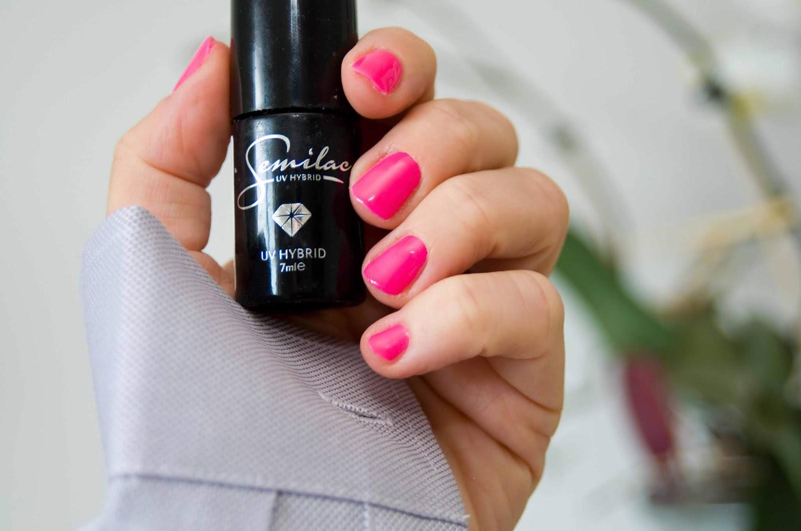 Pink Wink Semilac Nr 170 Odwazny Rozowy Na Lato