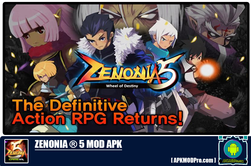 Download ZENONIA® 5 MOD APK