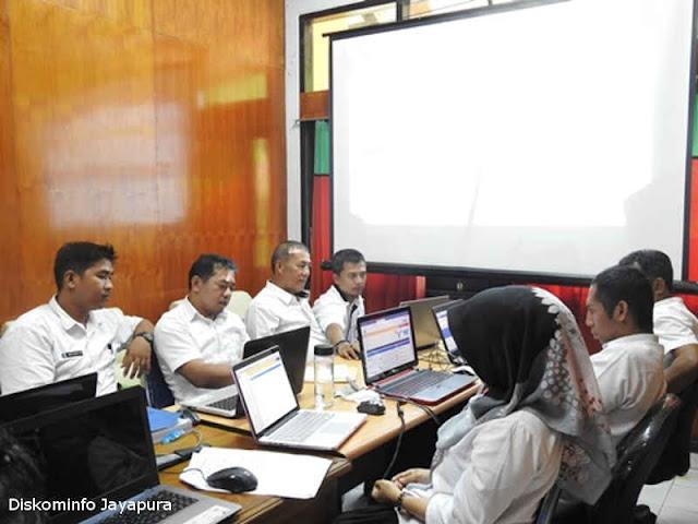 Pemkab Jayapura Gelar Pelatihan Pengisian RUP pada SiRUP 2.3