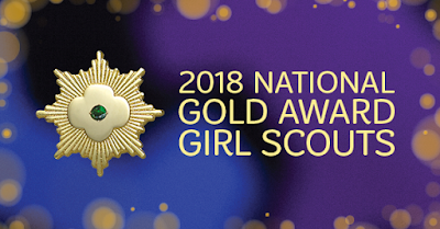 2018 National Gold Award Girl Scout