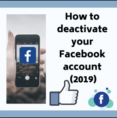 How To Deactivate Facebook On Mobile