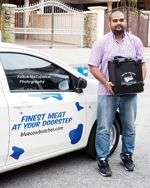 Meet Mr Krishnan, Blue Cow Butcher's Friendly Deliveryman