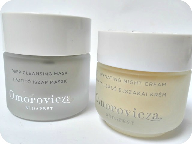 A picture of Omorovicza Deep Cleansing Mask and Rejuvenating Night Cream