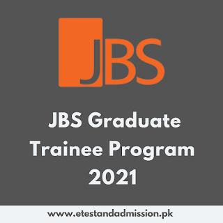 JBS Graduate Trainee Program 2021