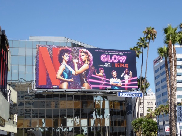Glow Netflix series billboard