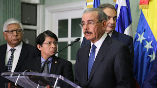 Danilo valora avances diálogo gobierno y oposición de Venezuela. 15 de diciembre, nuevo encuentro