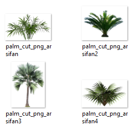 100 Tree and Plant PNG PSD