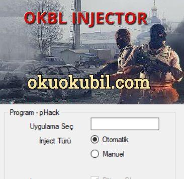 OKBL Dll Injector V2 PointBlank, CS-GO + Her Oyunla Uyumlu Program İndir 2020