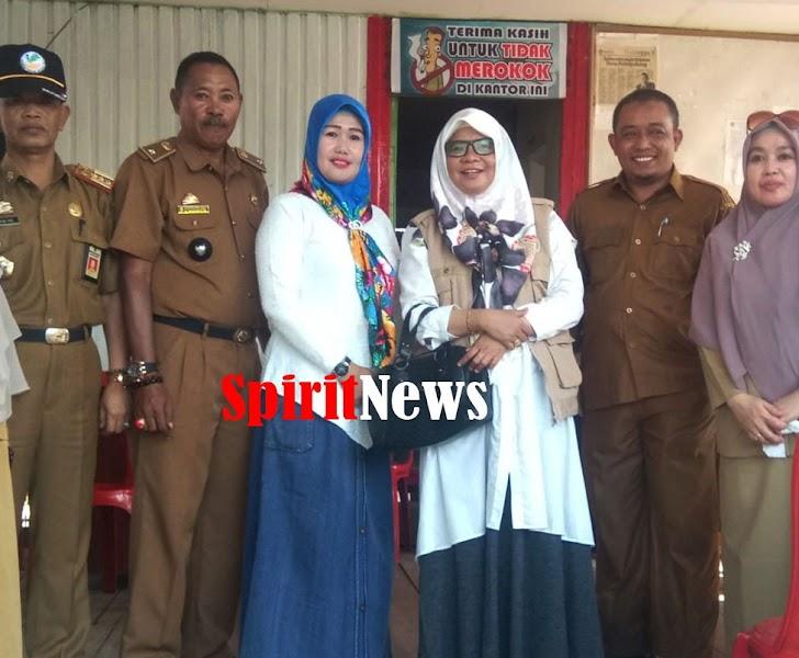 Ketua Forum Kabupaten Sehat, Bersama Rombongan Kunjungi Pokja Desa Pattopakan Kec Marbo