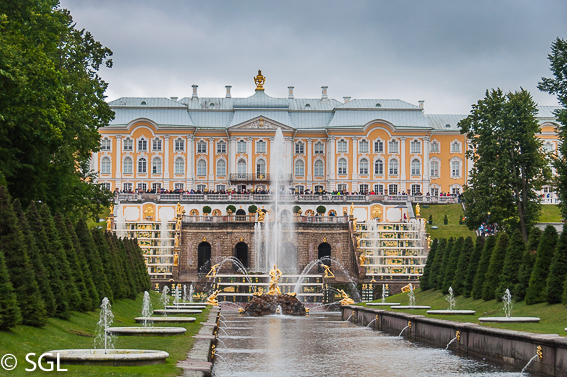 Palacio de Peterhof, excursion desde San Petersburgo