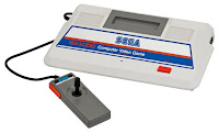 Imagen con la primera consola de SEGA: Sega SG-1000