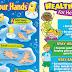 Proper Hand Washing and Healthy Habits (Posters/Tarp)