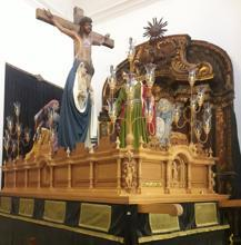Todo listo para la procesión más simbólica de Siete Palabras de Cádiz