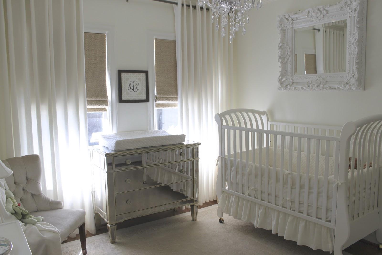Curtains For Baby Girl Nursery: Decorgreat: Baby Girl's Nursery
