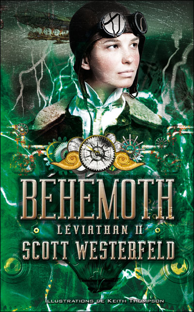 """Tahleen's Mixed-Up Files: Audiobook Review: """"Behemoth"""" by ..."""