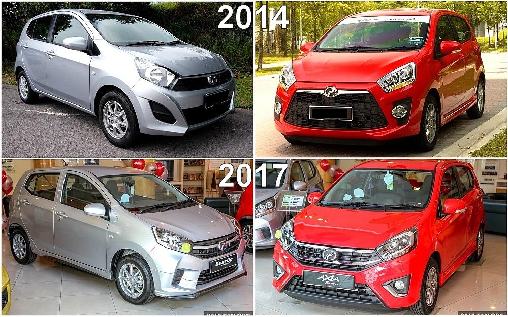 Dua hari lepas, perodua telah melancarkan axia 2019 dengan harga bermula dari rm24,090 sehingga rm43,190. Harga Perodua Axia Facelift - 31 Ogos 2021
