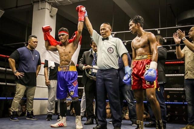 Lawan Thailand, Prajurit TNI AU Juara Tinju Kelas Dunia Usai Pukul KO Ronde 4