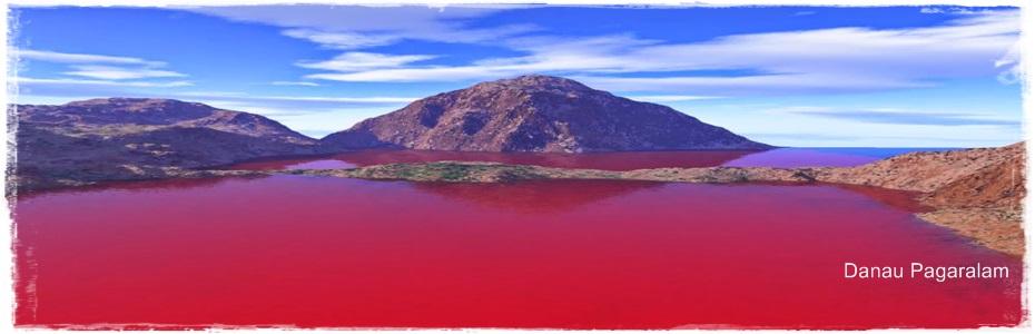 Hasil gambar untuk danau berwarna merah di bengkulu