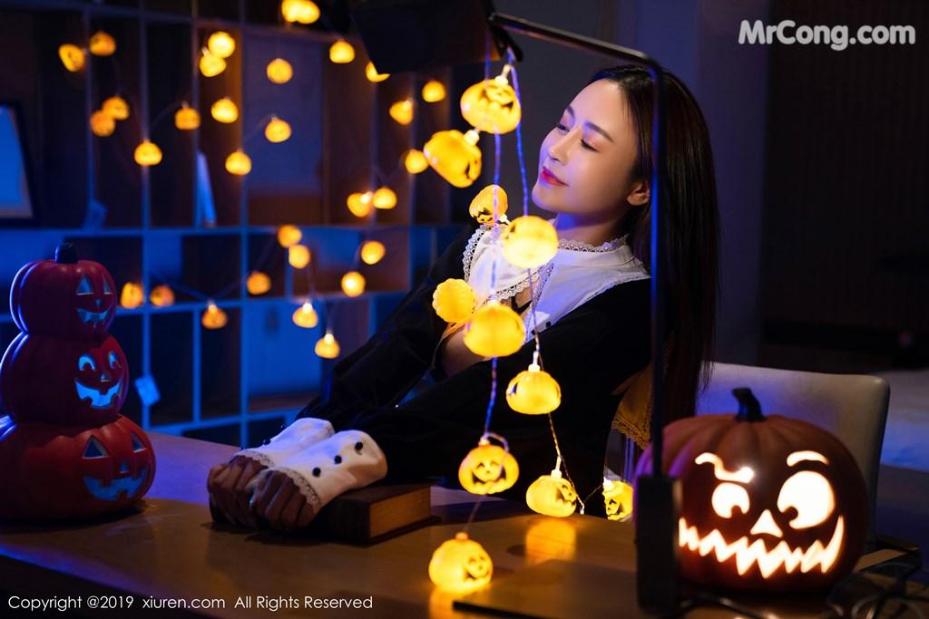 Image XIUREN-No.1802-Zhou-Jing-Kong-MrCong.com-003 in post XIUREN No.1802: Zhou Jing Kong (周井空) (43 ảnh)