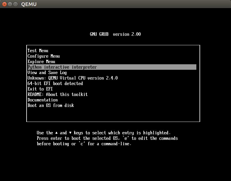mem-log: Getting started with UEFI application development
