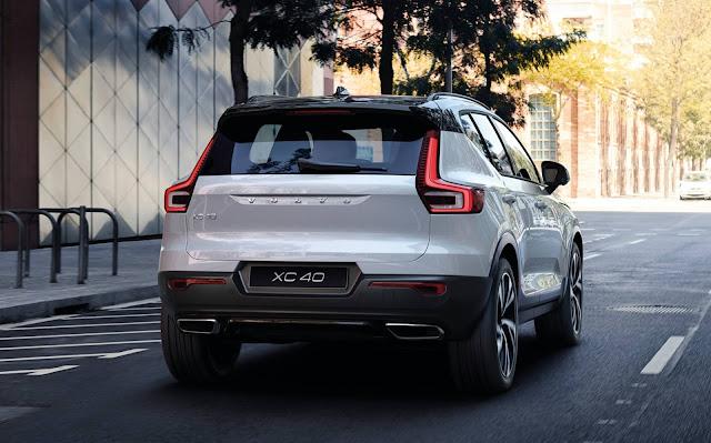 Volvo XC40 Híbrido Plug-in chega ao Brasil - R$ 229.950