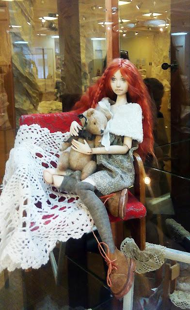 """Выставка авторской куклы в Самаре """"Куклы. Эмоции. Чувства."""",Татьяна Завальская (Самара) """"Лиза"""""""