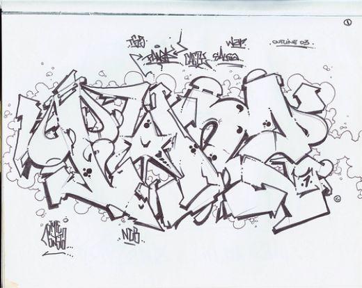 Graffiti Sketches   Best Graffitianz