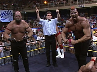 WCW Clash of the Champions XII - Kevin Nash made his debut as part of The Master Blasters