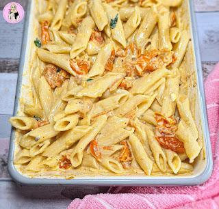 Tomato & Feta Pasta Trend Recipe | Slimming World Friendly