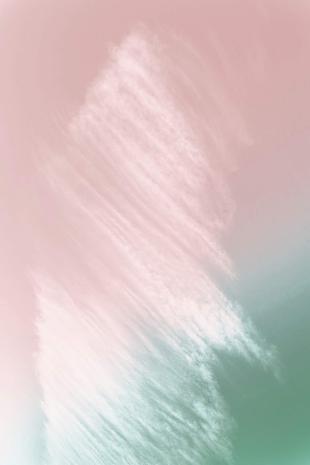 Free digital download, abstract pink and green background paper painted texture.