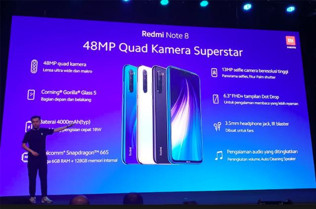 Spesifikasi Xiaomi Redmi Note 8 Pro Resmi di Indonesia