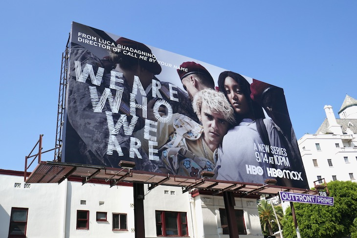We Are Who We Are series premiere billboard