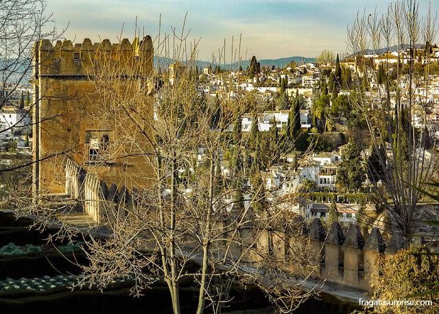 Passeio das Torres, Alhambra, Granada