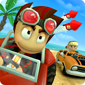 Beach Buggy Racing Mod Apk Unlimited Coins v1.2.14 Terbaru