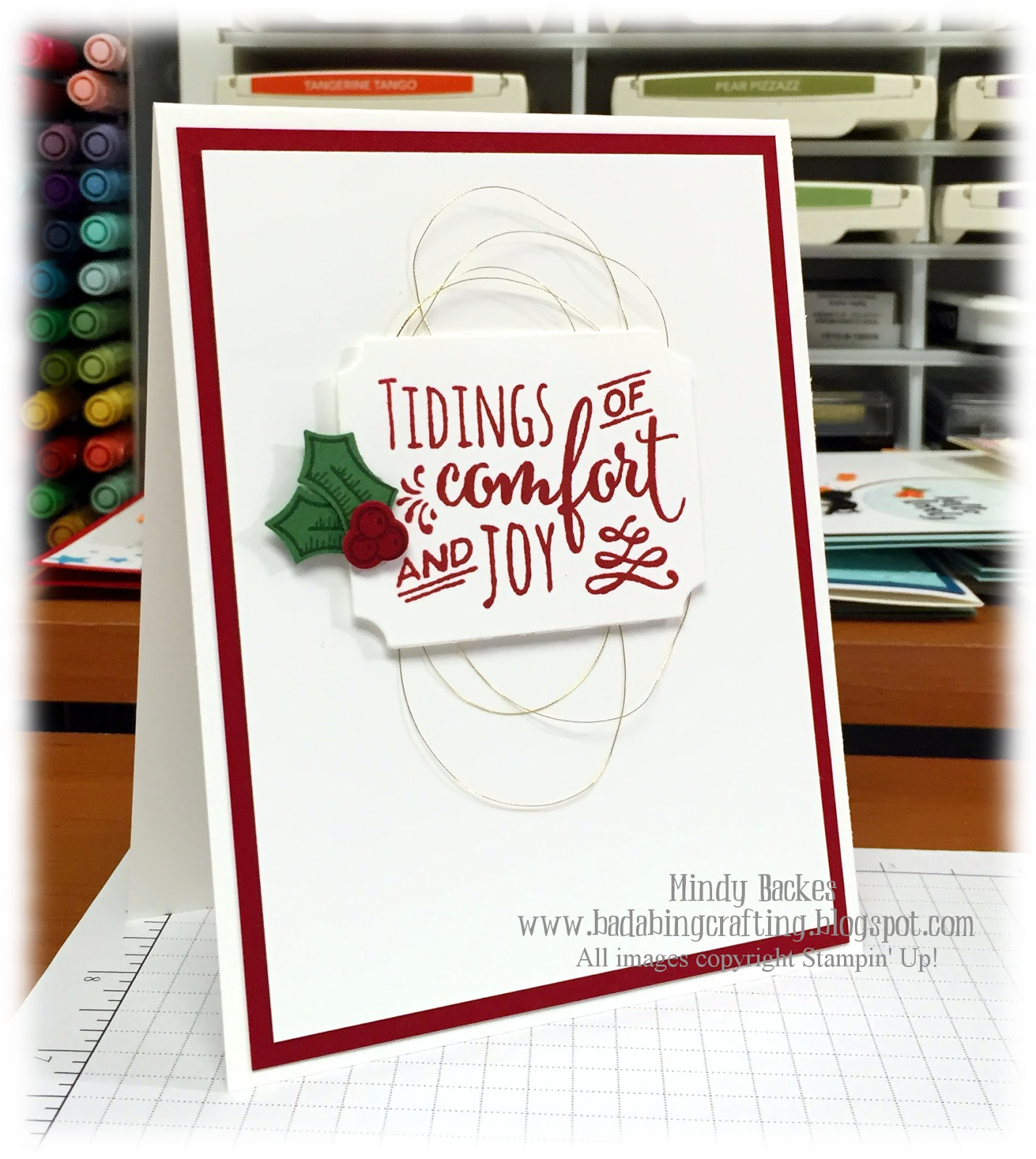 Bada Bing Paper Crafting August 2016