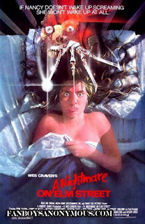 Nightmare on Elm Street original movie poster