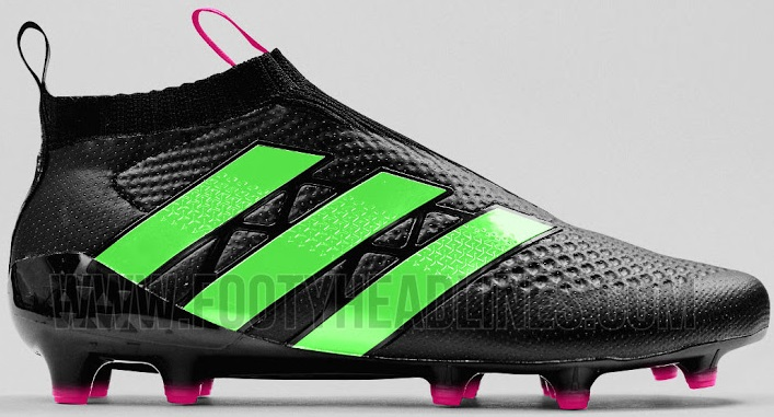 brand new 819f0 58ba1 Adidas Ace 16+ Pure Control Boots  Here is the leaked information about  Adidas new football boots known as Adidas Ace 16+ Purecontrol black and  solar green ...